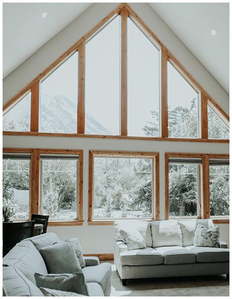 Interior of Alpine Recovery Lodge